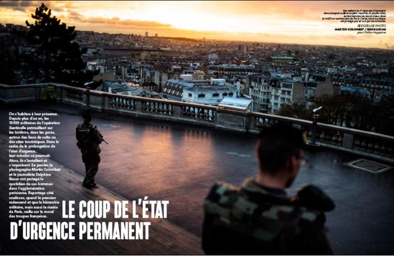 Paris, zwei Arrondissements nach den Attentaten vom 13. 11. 2015