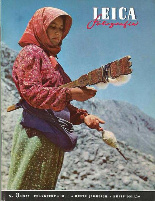 'rein in die Zeitmaschine: LEICA Fotografie 3/1957