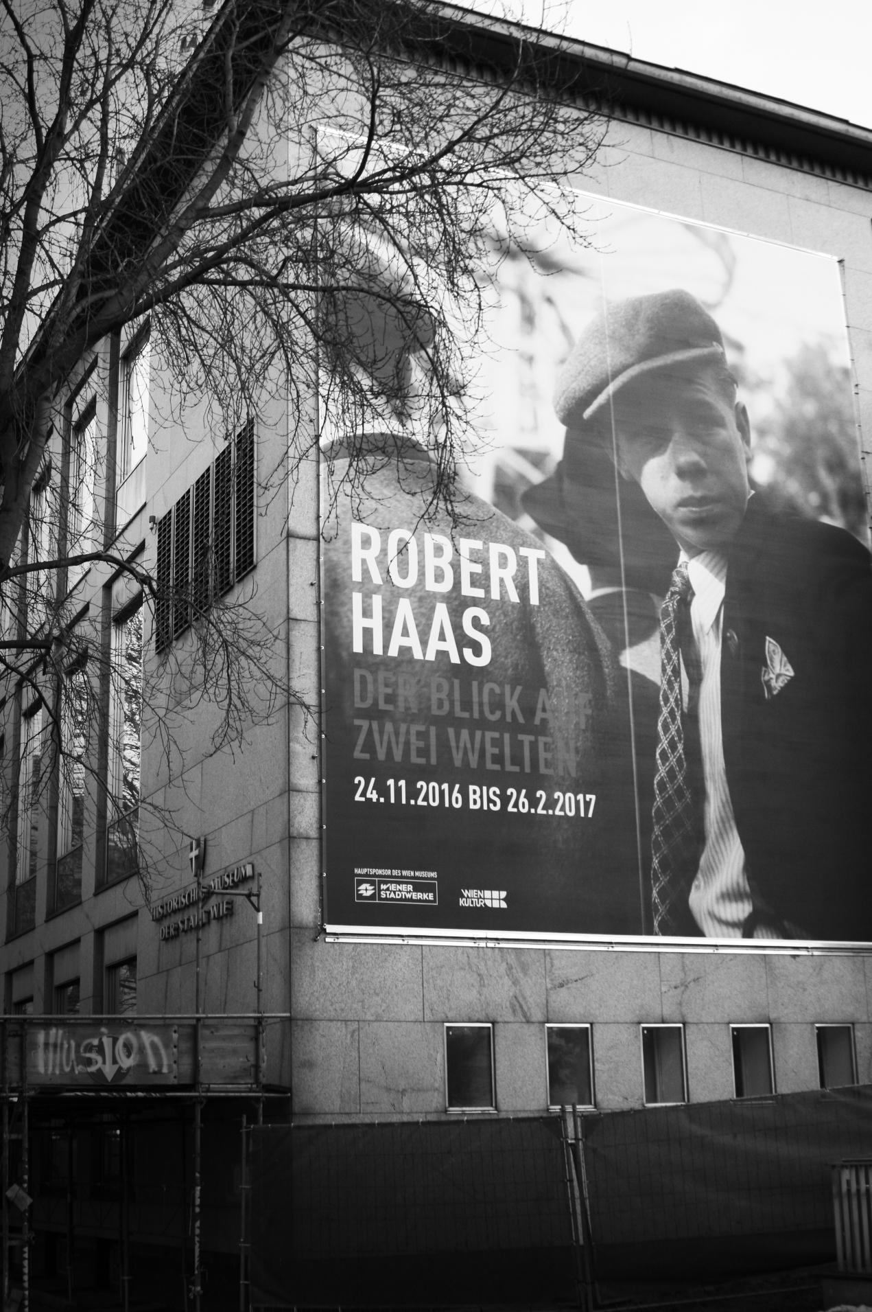 Robert-Haas-Ausstellung: Streetphotography, made in Vienna