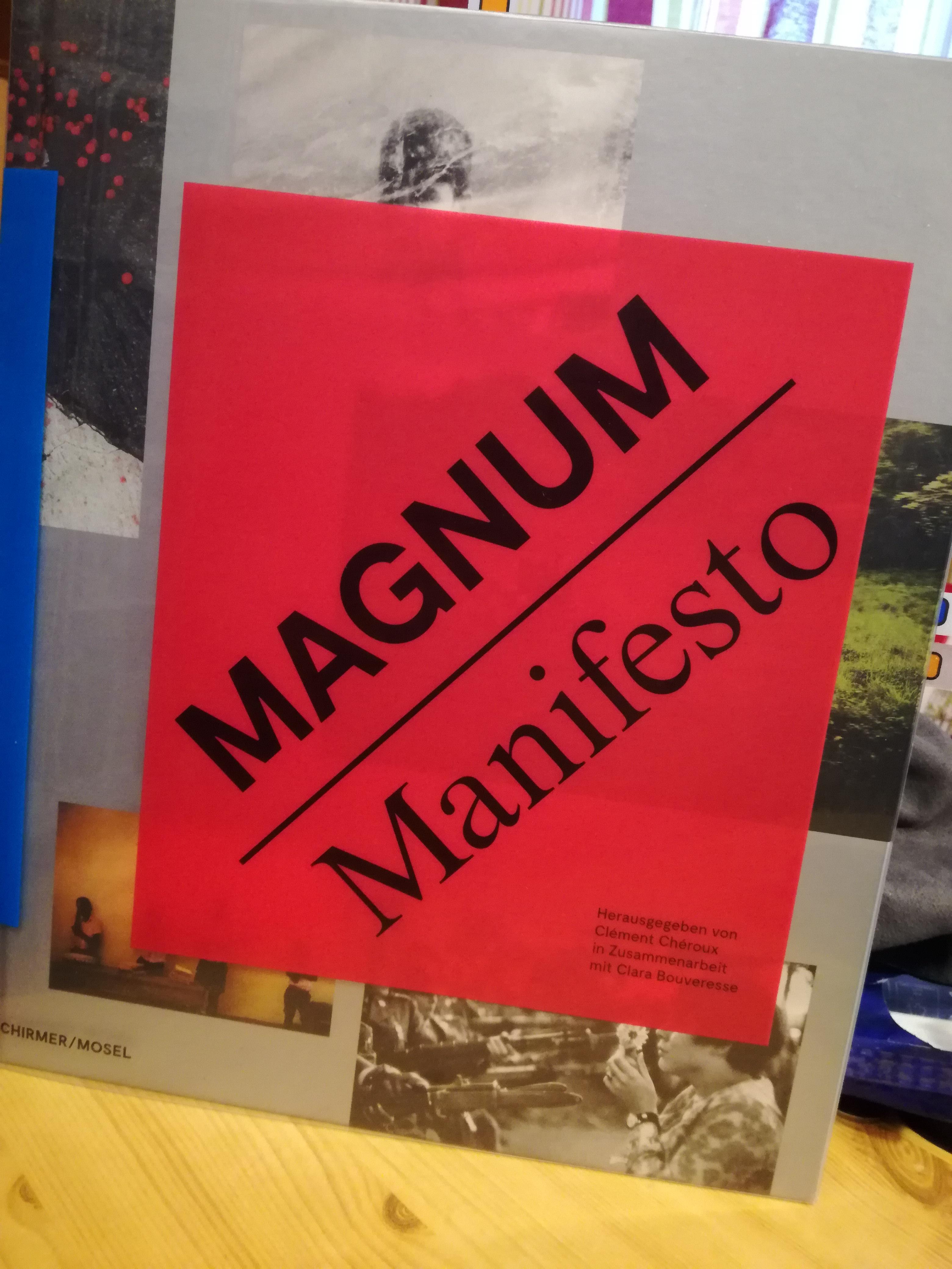 """""""Magnum manifesto"""" – ein Fotobuch der Extraklasse"""